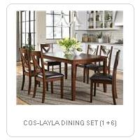 COS-LAYLA DINING SET (1 + 6)
